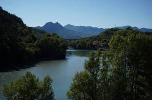River on way to Sisteron